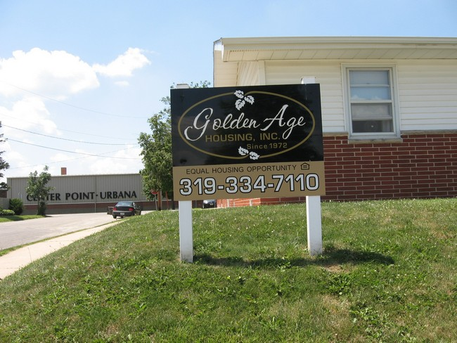 Golden Age Apartments for Rent in Center Point, Iowa