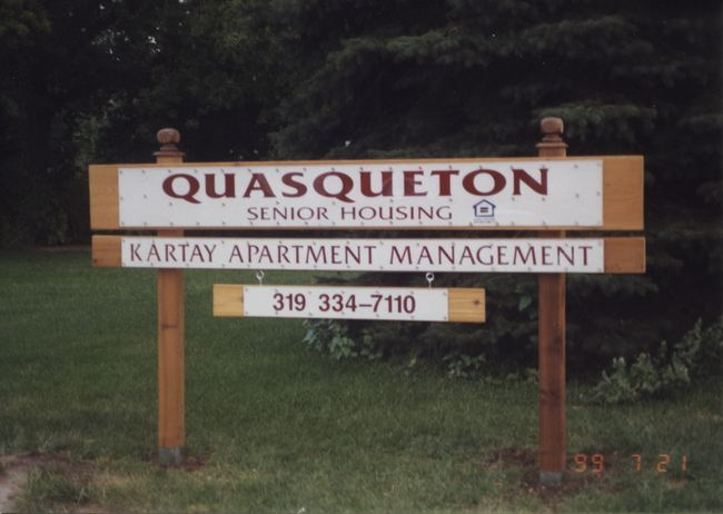 Quasqueton Senior Housing Apartments for Rent in Quasqueton, Iowa.