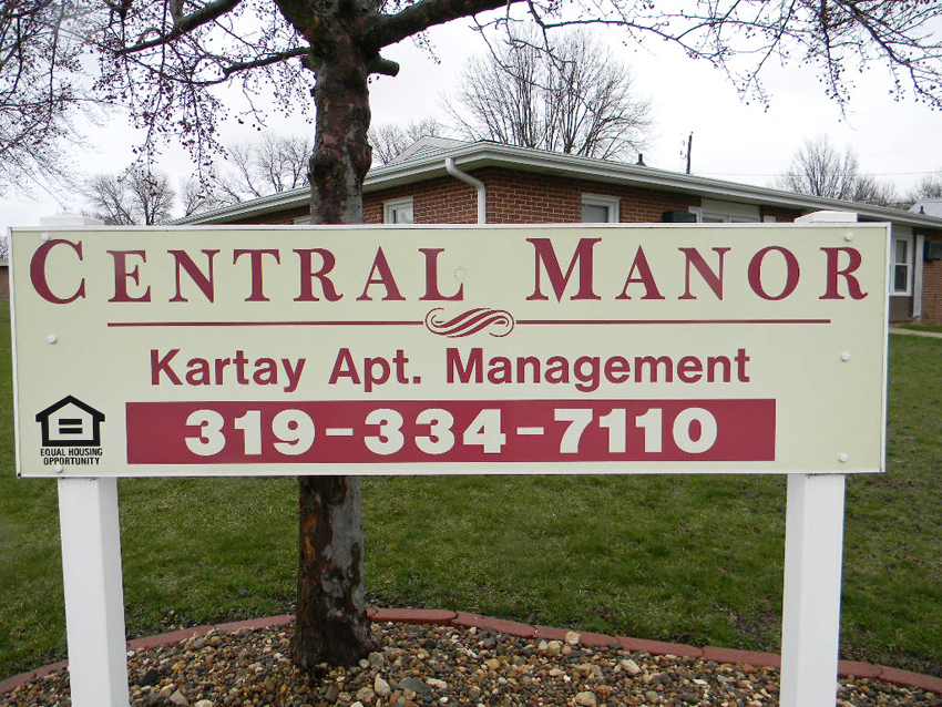 Oelwein Senior Housing Central Manor Apartments for Rent in Iowa.