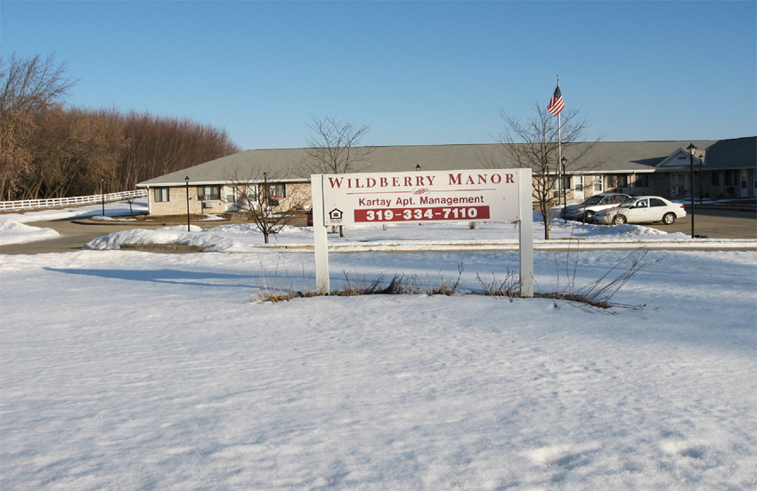 Wildberry Manor Apartments for Rent in Independence, Iowa.